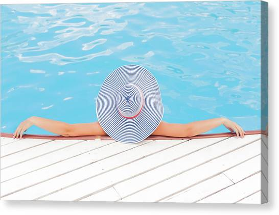 Relax Canvas Print - Relaxing by Happy Home Artistry
