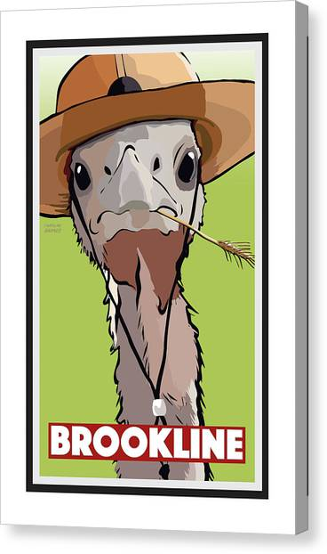 Relaxing In Brookline Canvas Print
