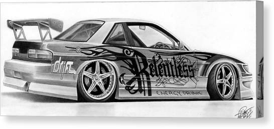 Relentless Drift Canvas Print by Lyle Brown