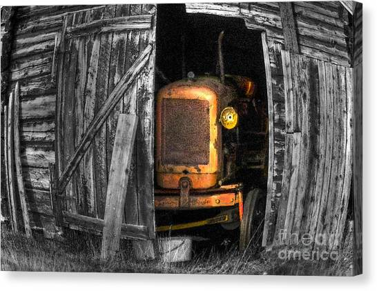 Relic From Past Times Canvas Print