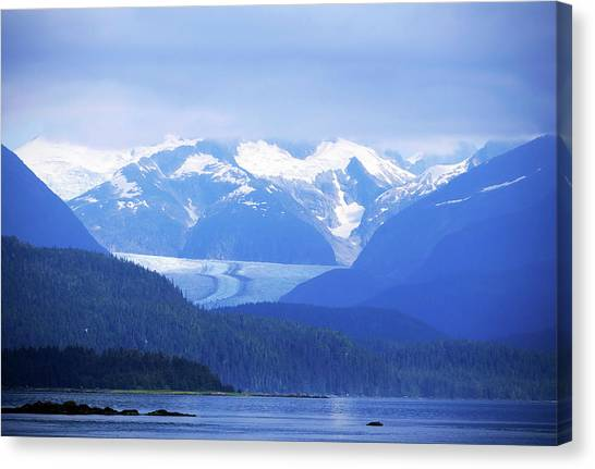 Remains Of A Glacier Canvas Print