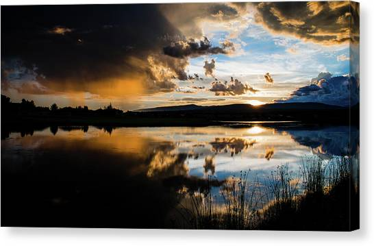 Canvas Print featuring the photograph Remains Untrusted by Jason Coward