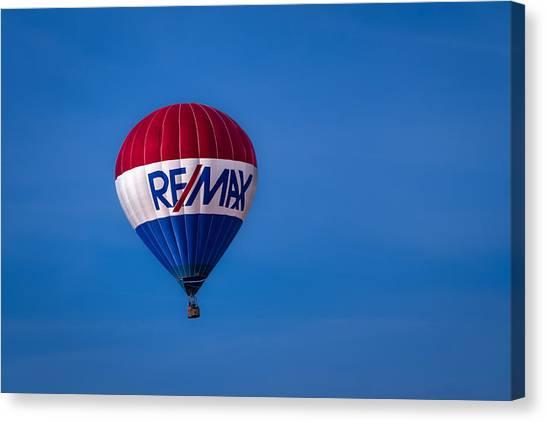 Remax Hot Air Balloon Canvas Print