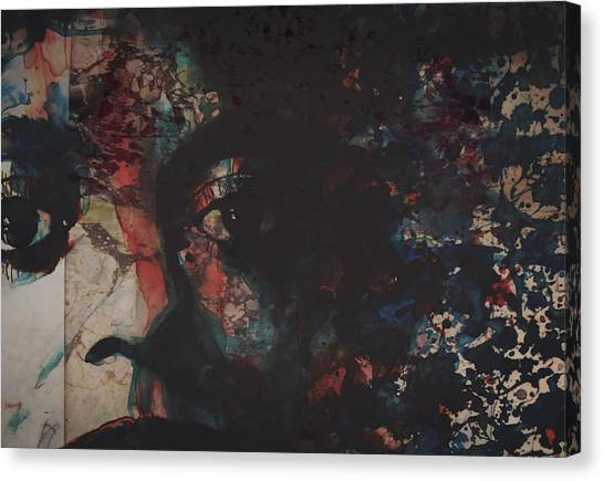 Detroit Canvas Print - Remember Me by Paul Lovering