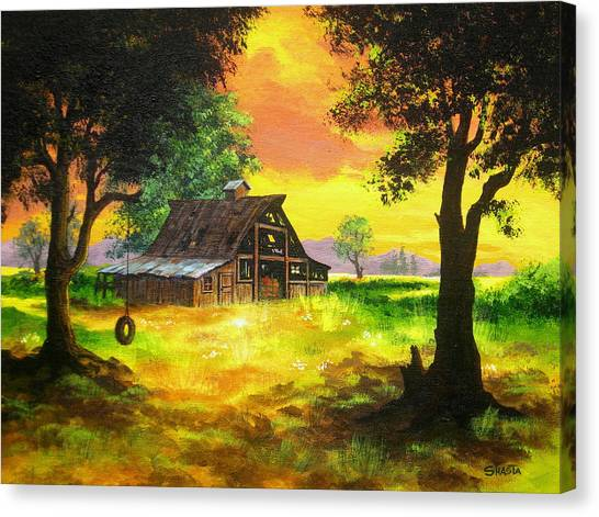 Remember  When Canvas Print by Shasta Eone