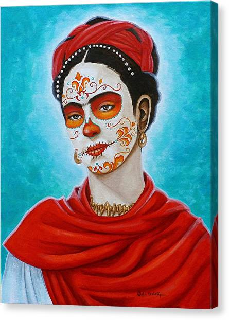 Remembering Frida Canvas Print