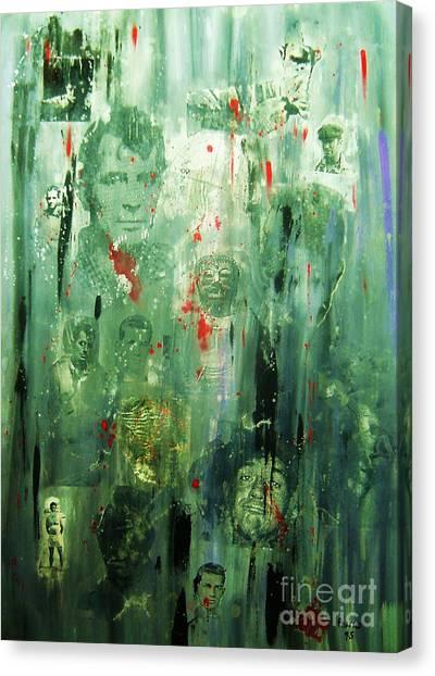 Remembering Kerouac Canvas Print