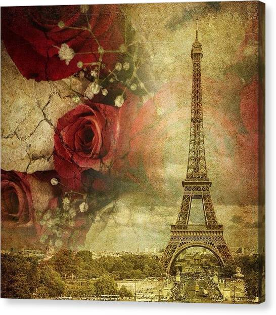 Remembering Paris Canvas Print