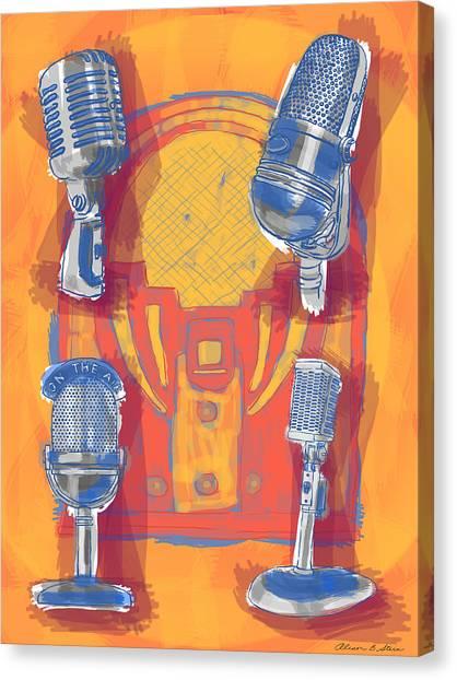Remembering Radio Canvas Print