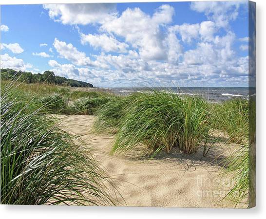 Remembering Summer Beach Scenes Canvas Print