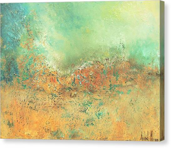 Remembrance Canvas Print by Anahid Minatsaghanian