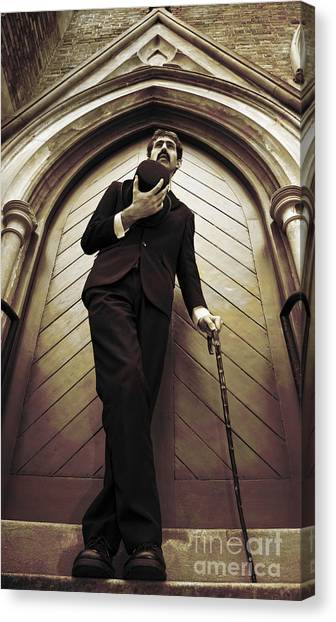 Undertaker Canvas Print - Remembrance Service Man by Jorgo Photography - Wall Art Gallery