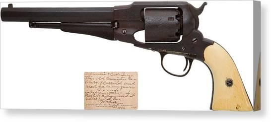 Rifles Canvas Print - Remington Revolver by Super Lovely