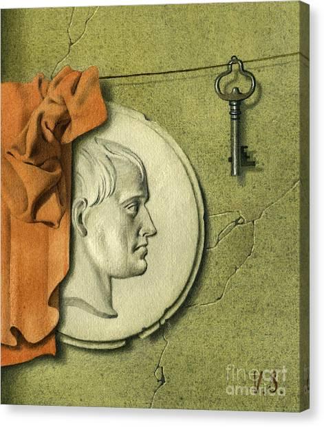 Reminiscences Of History Canvas Print