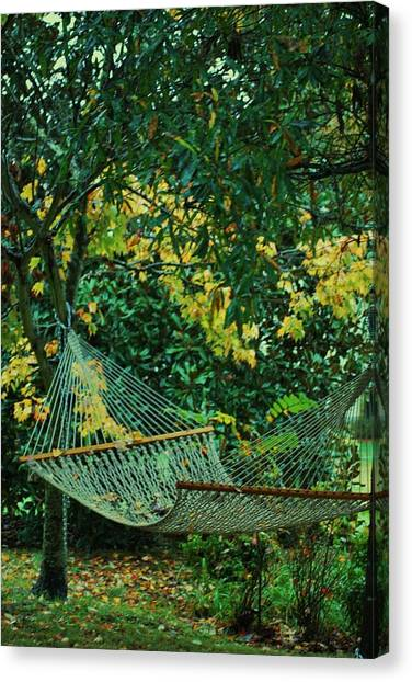 Remnants Of Summer Canvas Print by Trudi Southerland