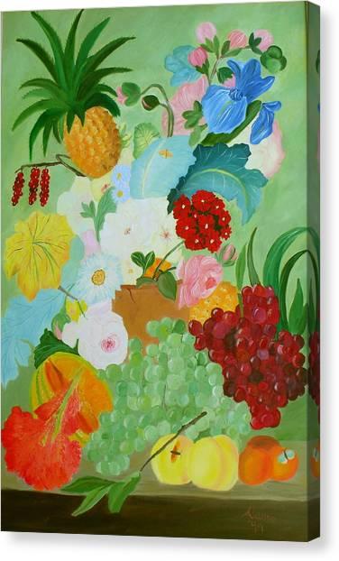 Renaissance Pleasure Canvas Print by Alanna Hug-McAnnally