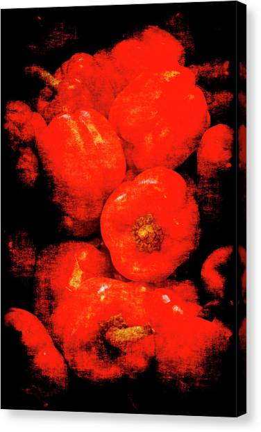 Renaissance Red Peppers Canvas Print