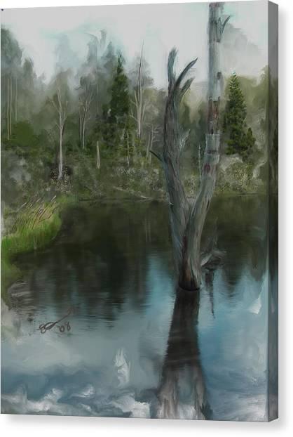 Renewal... Canvas Print by Eddie Durrett