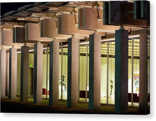 Renzo Piano Building Kimball Museum Canvas Print