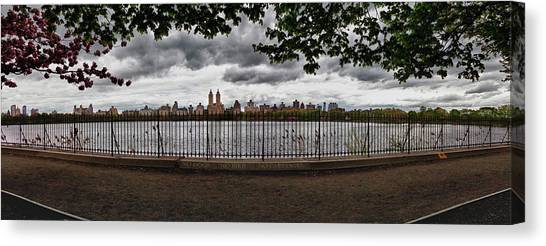Reservoir Panorama Canvas Print