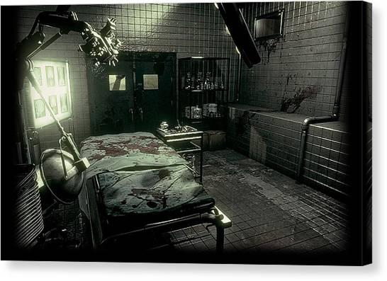 Resident Evil Canvas Print - Resident Evil by Dorothy Binder