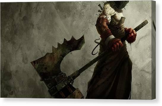Resident Evil Canvas Print - Resident Evil by Eloisa Mannion