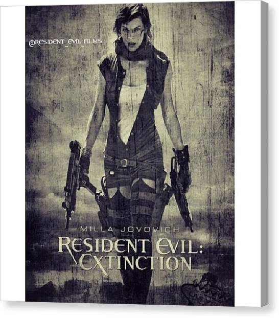 Canvas Print - #resident #evil #residentevil by Resident Evil