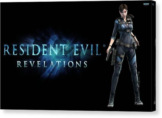 Resident Evil Canvas Print - Resident Evil Revelations by Dorothy Binder