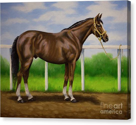 Rest Day Racer Canvas Print
