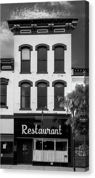 Restaurant Canvas Print by Al White