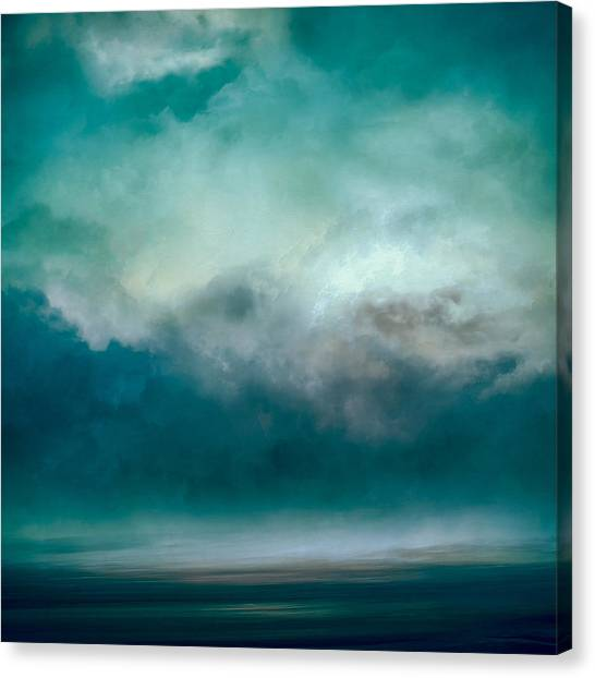 Clouds Canvas Print - Resting Waters by Lonnie Christopher