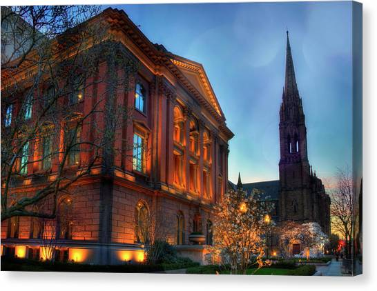 Restoration Hardware - Back Bay - Boston Canvas Print by Joann Vitali