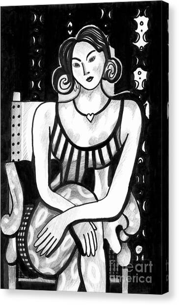 Rethinking Matisse Canvas Print