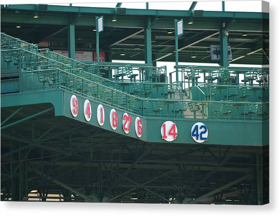 Retired Numbers Canvas Print