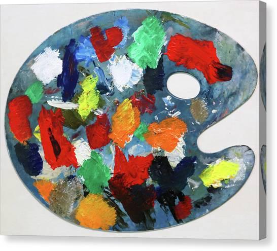 The Artists Palette Canvas Print