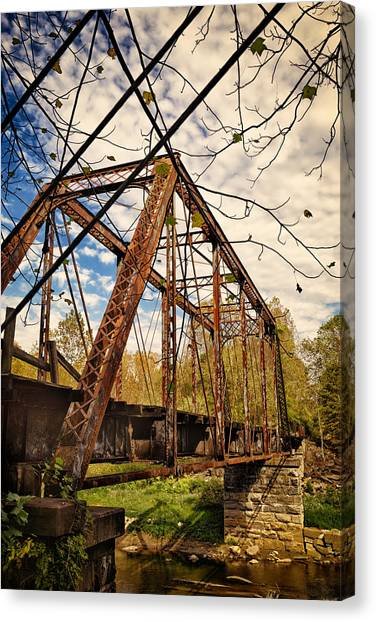 Retired Trestle Canvas Print
