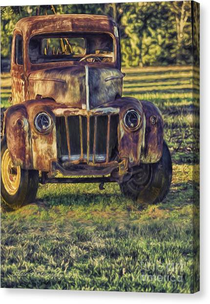 Retired Wrecker Canvas Print