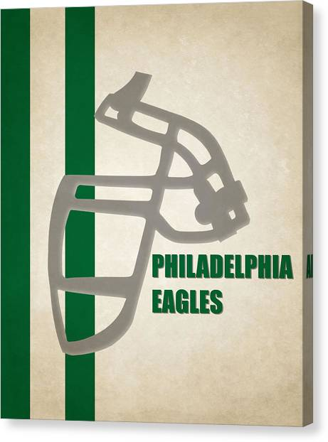 Philadelphia Eagles Canvas Print - Retro Eagles Art by Joe Hamilton
