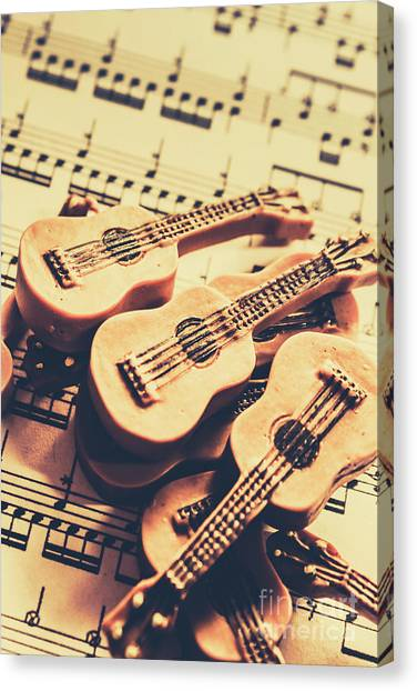 Rhythm Canvas Print - Retro Folk And Blues by Jorgo Photography - Wall Art Gallery