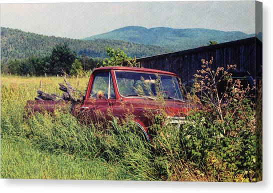 Retro Ford Canvas Print by JAMART Photography