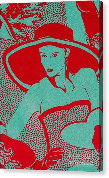 Retro Glam Canvas Print