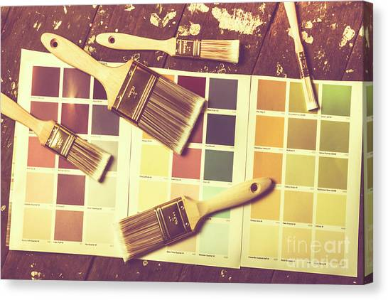 Repairs Canvas Print - Retro Interior Design by Jorgo Photography - Wall Art Gallery