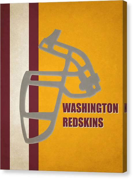 Washington Redskins Canvas Print - Retro Redskins Art by Joe Hamilton
