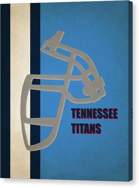 Tennessee Titans Canvas Print - Retro Titans Art by Joe Hamilton