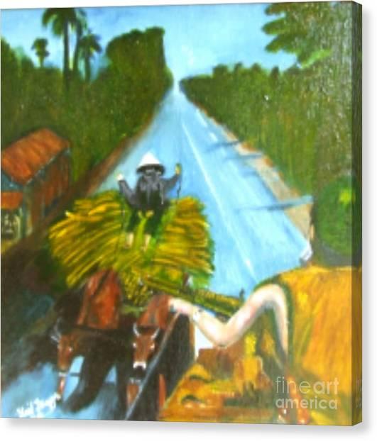 Return From Ambush Canvas Print by Neil Trapp
