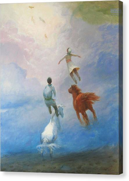 Return Heaven Canvas Print