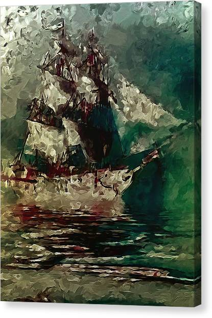 Return Of The Flying Dutchman Canvas Print