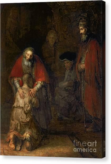 Canvas Print - Return Of The Prodigal Son by Rembrandt Harmenszoon van Rijn