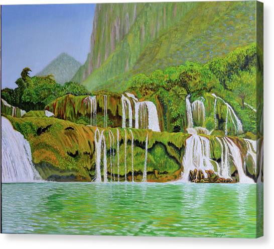 Returned To Paradise Canvas Print