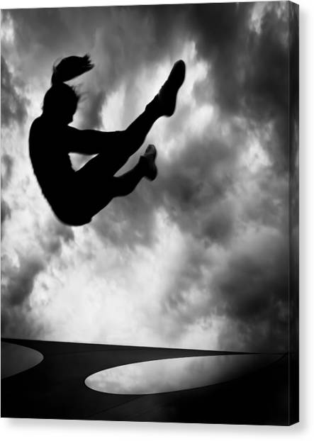 Metaphysical Canvas Print - Returning To Earth by Bob Orsillo